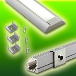 LED Aluminum Extrusions
