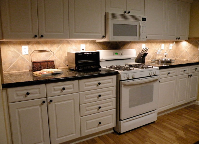 Under Cabinet LED Lighting using LED Modules - DIY LED Projects