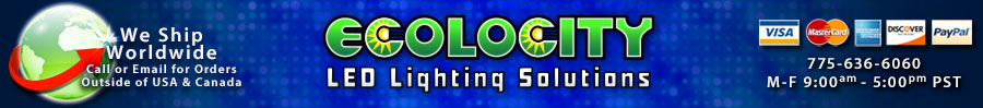 Ecolocity LED Strip Lights, LED Power, Controls, LED Modules and LED Wall Washers